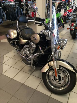 2010 Kawasaki Vulcan 1700 Nomad Black / Silver Vn1700caf photo