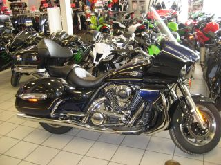2013 Kawasaki Vulcan 1700 Voyager Abs Blue / Black photo