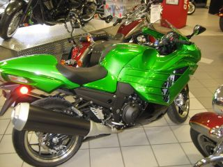 2013 Kawasaki Ninja Zx - 14r Abs Zx1400fdfa photo