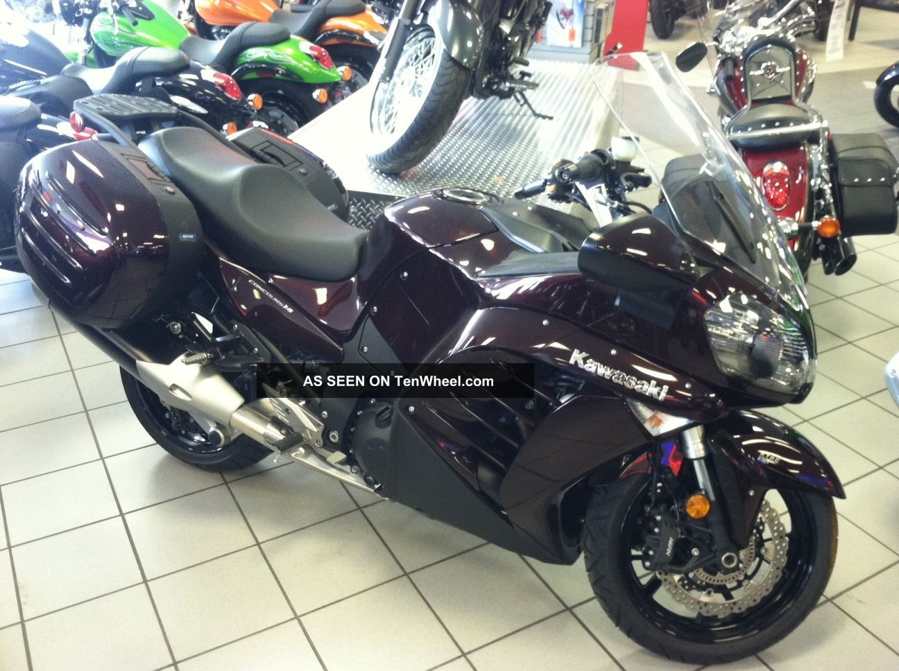 2012 Kawasaki Concours 1400 Abs Zg1400ccf Other photo