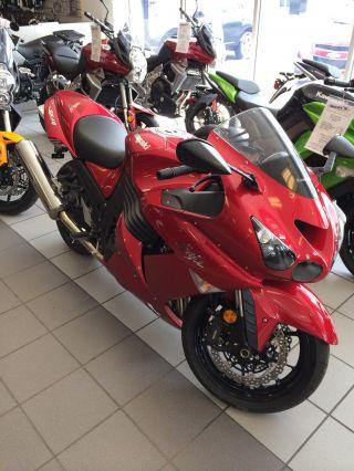 2010 Kawasaki Ninja Zx - 14 1400 Zx1400caf photo