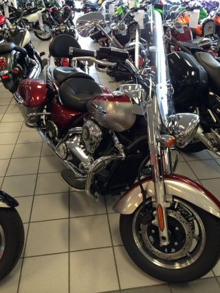 2012 Kawasaki Vulcan 1700 Nomad Red Vn1700ccf photo