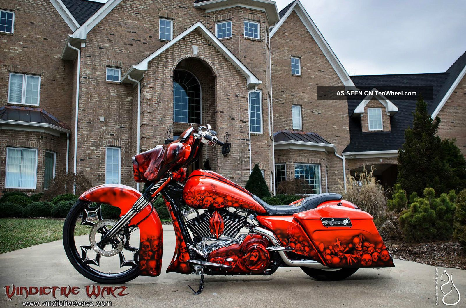 2012 Harley Street Glide Custom Built By Joey Beam ' S Vindictive Wayz,  Road King Touring photo