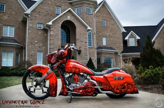 2012 Harley Street Glide Custom Built By Joey Beam ' S Vindictive Wayz,  Road King photo