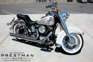 1994 Harley - Davidson Flstn Nostalgia Edition Softail,  10k Mi. ,  1 - Owner photo