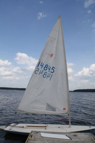 1978 Laser Sail Number 14845 photo