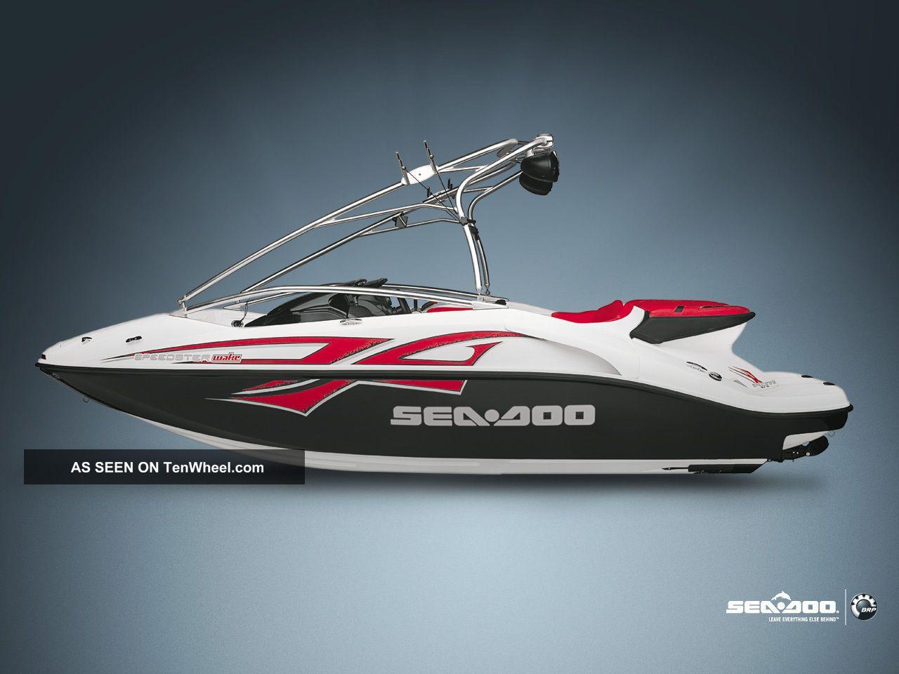 2008 Sea Doo Speedster 200 Wake