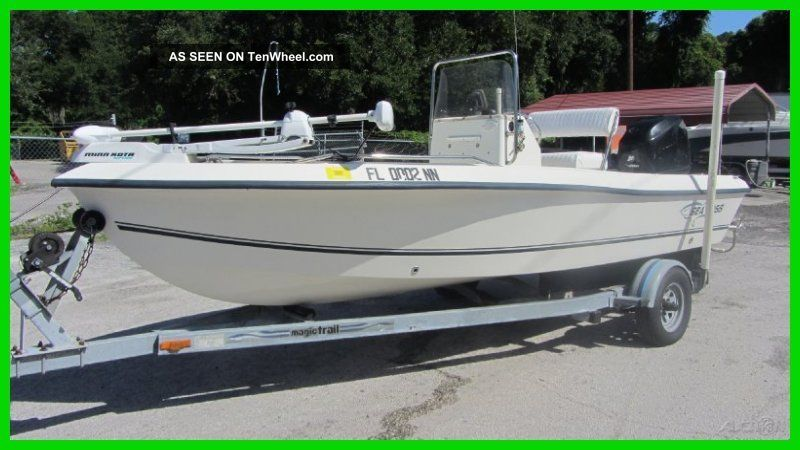2006 Sea Boss S170 Center Console Inshore Saltwater Fishing photo