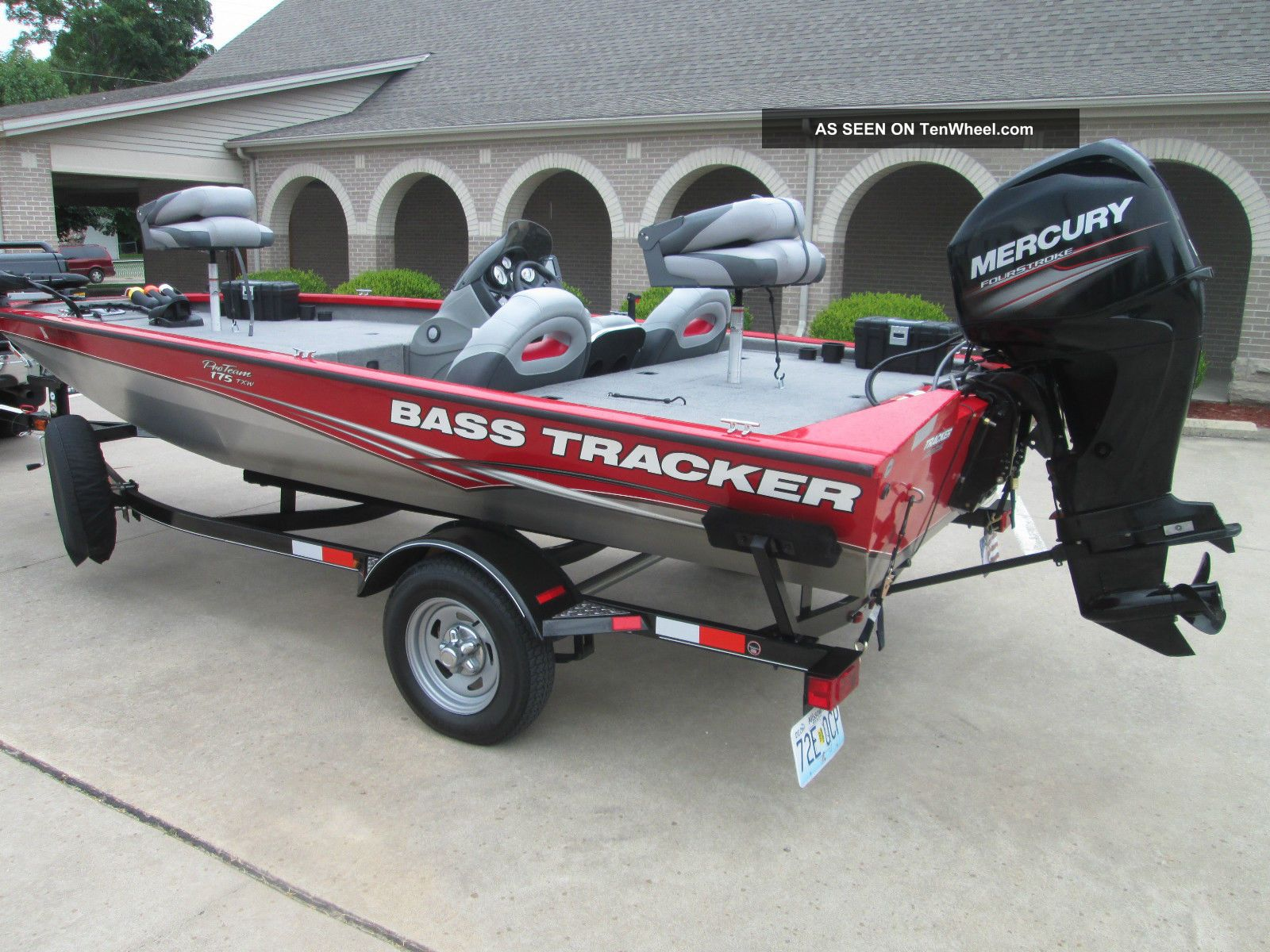 2013 Bass Tracker Proteam 175 Txw Other Freshwater Fishing photo