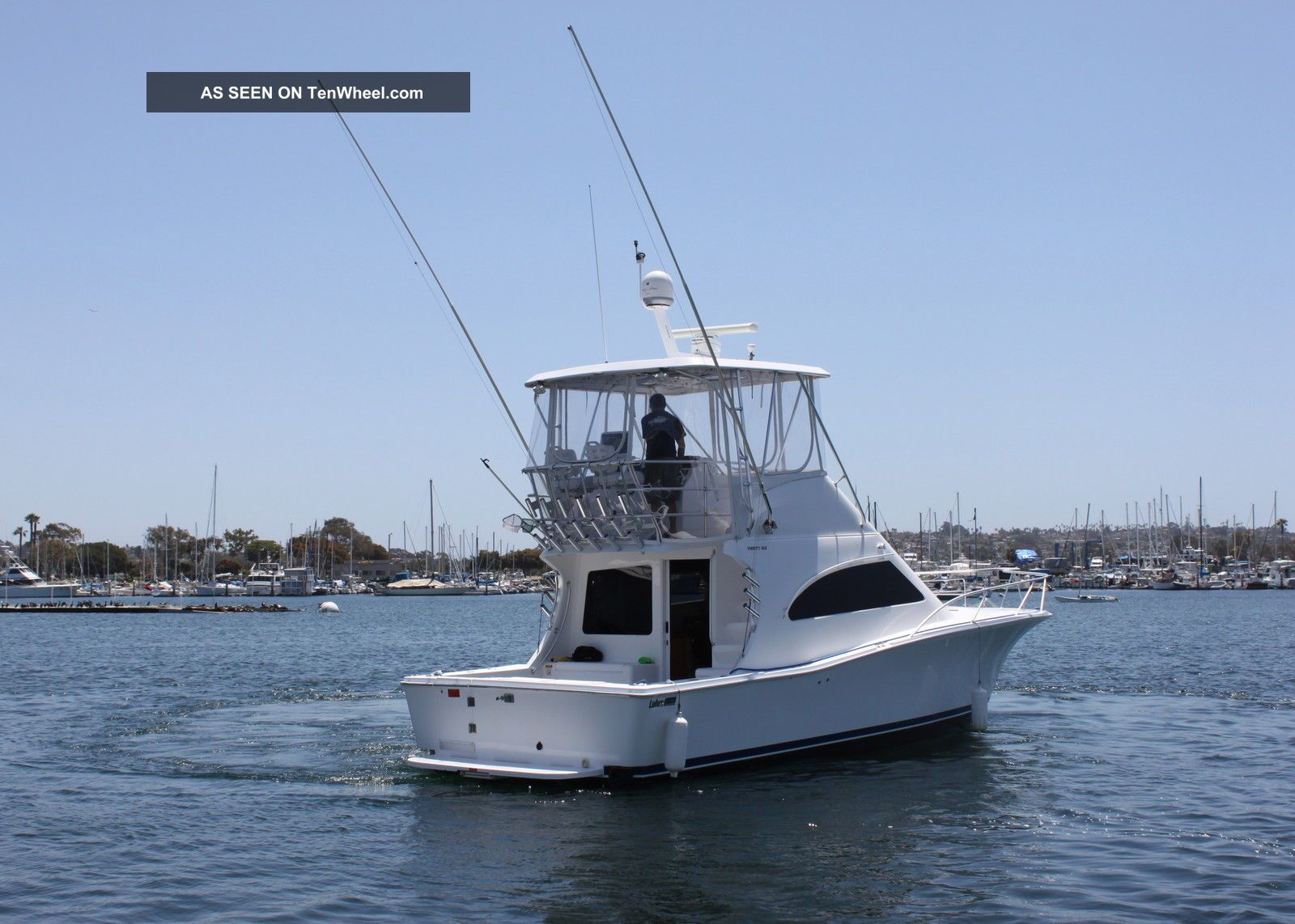 2007 luhrs 36 ft convertible fishing boat for Offshore fishing boats