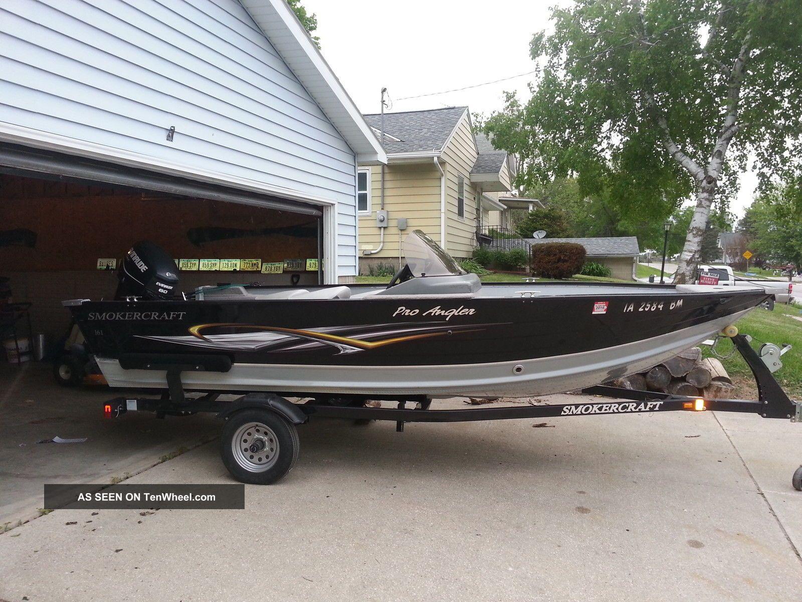 2010 Smokercraft Pro Angler 161 Bass Fishing Boats photo