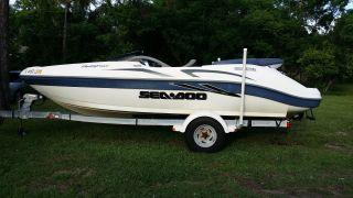 2001 Sea Doo Challenger 2000 20 ' Jet Boat photo