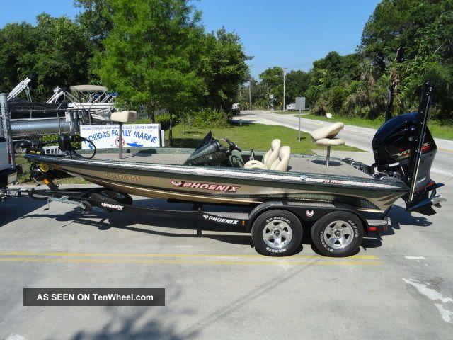 2012 Phoenix 719 Pro Xp Bass Fishing Boats photo