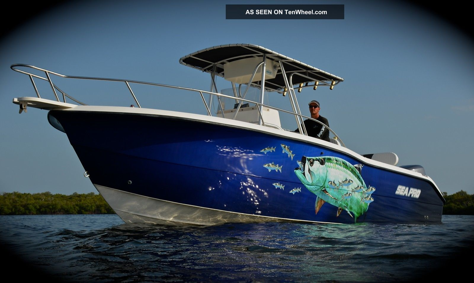 2000 Sea Pro 255 Cc Offshore Saltwater Fishing photo