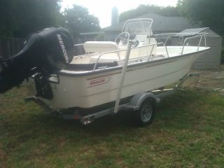 2011 Boston Whaler 170 Montauk photo
