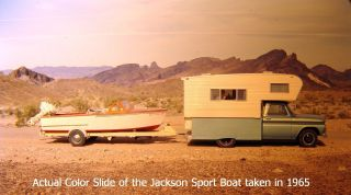 1959 Custom Built Chris Craft Style Sport Boat photo