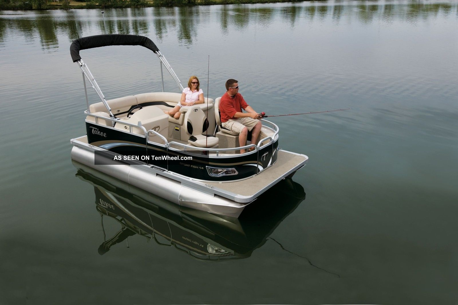 2012 tahoe 14 fish for Fishing deck boats