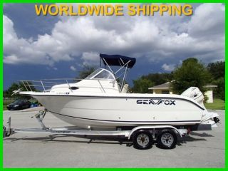 2001 Sea Fox 210wa photo