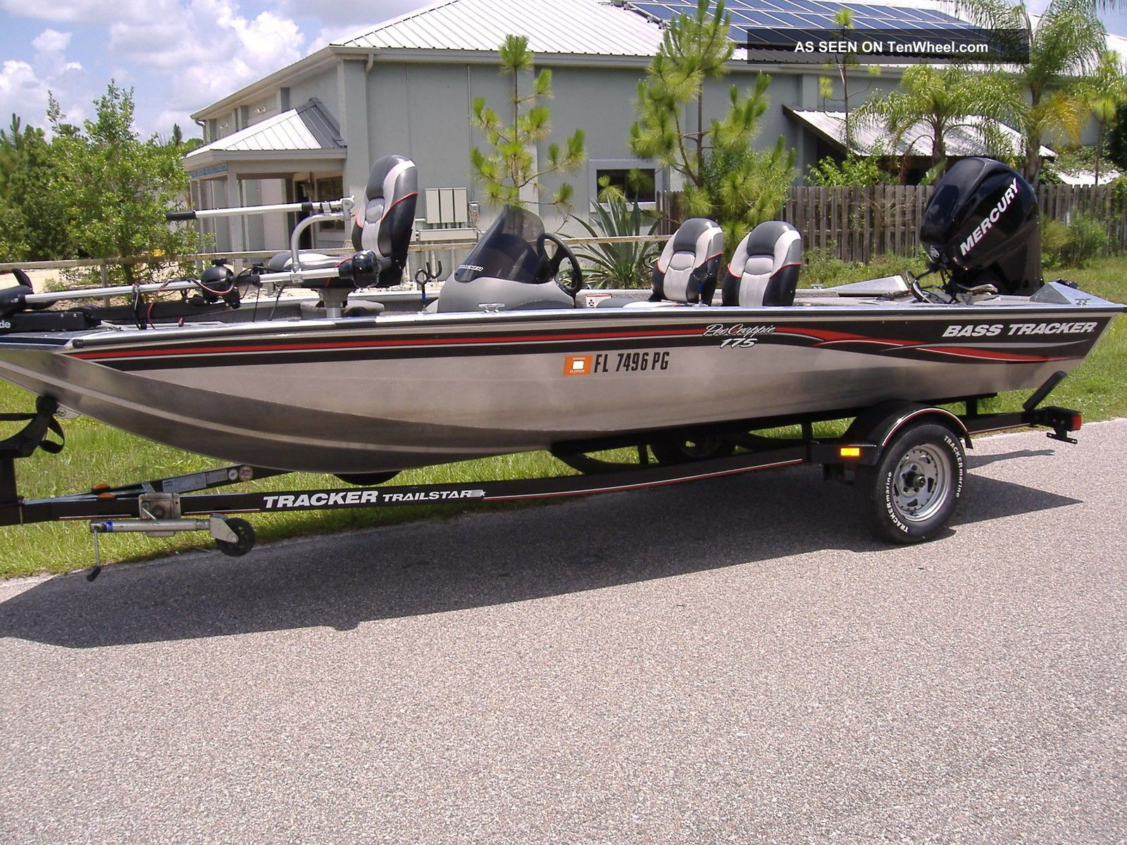 2009 bass tracker pro crappie 175 for Bass tracker fishing boats