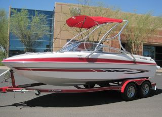 2008 Glastron Gt 205 Sea Ray Chaparral Reinel Crownline Bayliner Maxum photo