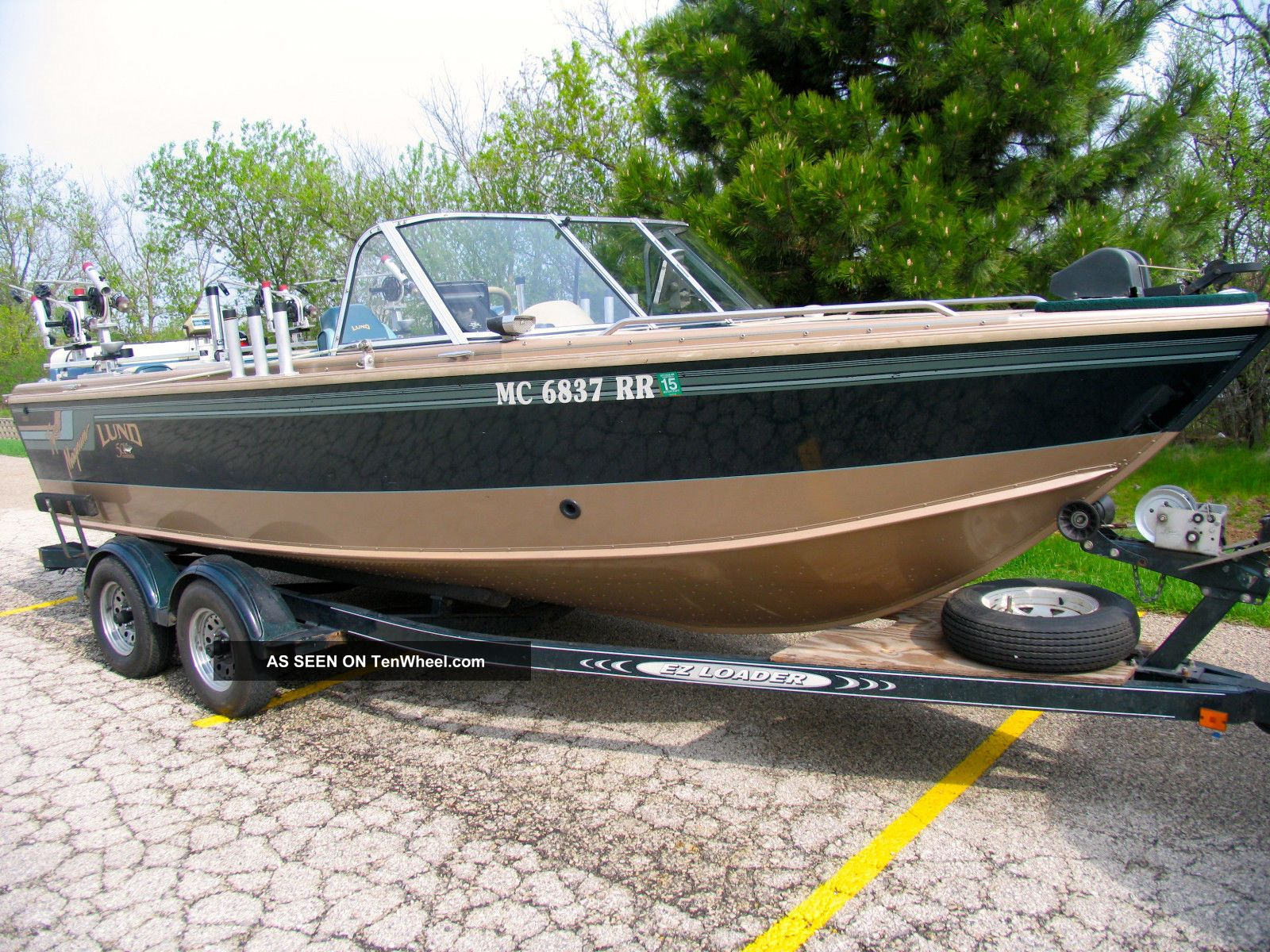1998 Lund 1950 Tyee Loaded In Incredible Shape Other Freshwater Fishing photo