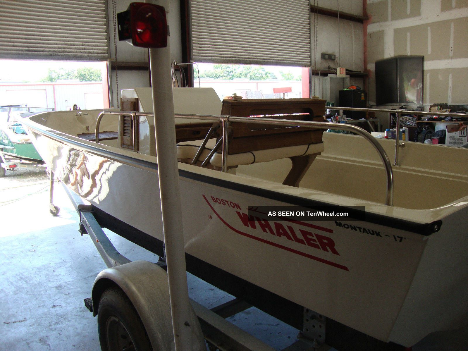 1982 Boston Whaler Montauk Inshore Saltwater Fishing photo