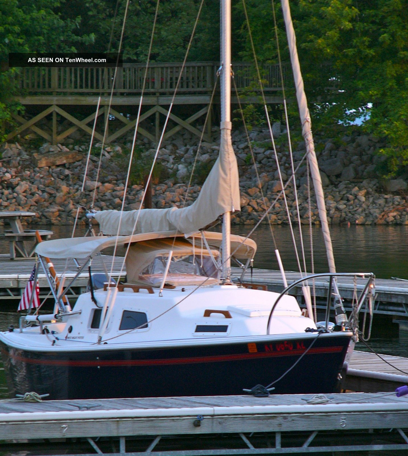 2001 International Marine West Wight Potter 19 Sailboats Under 20 feet photo