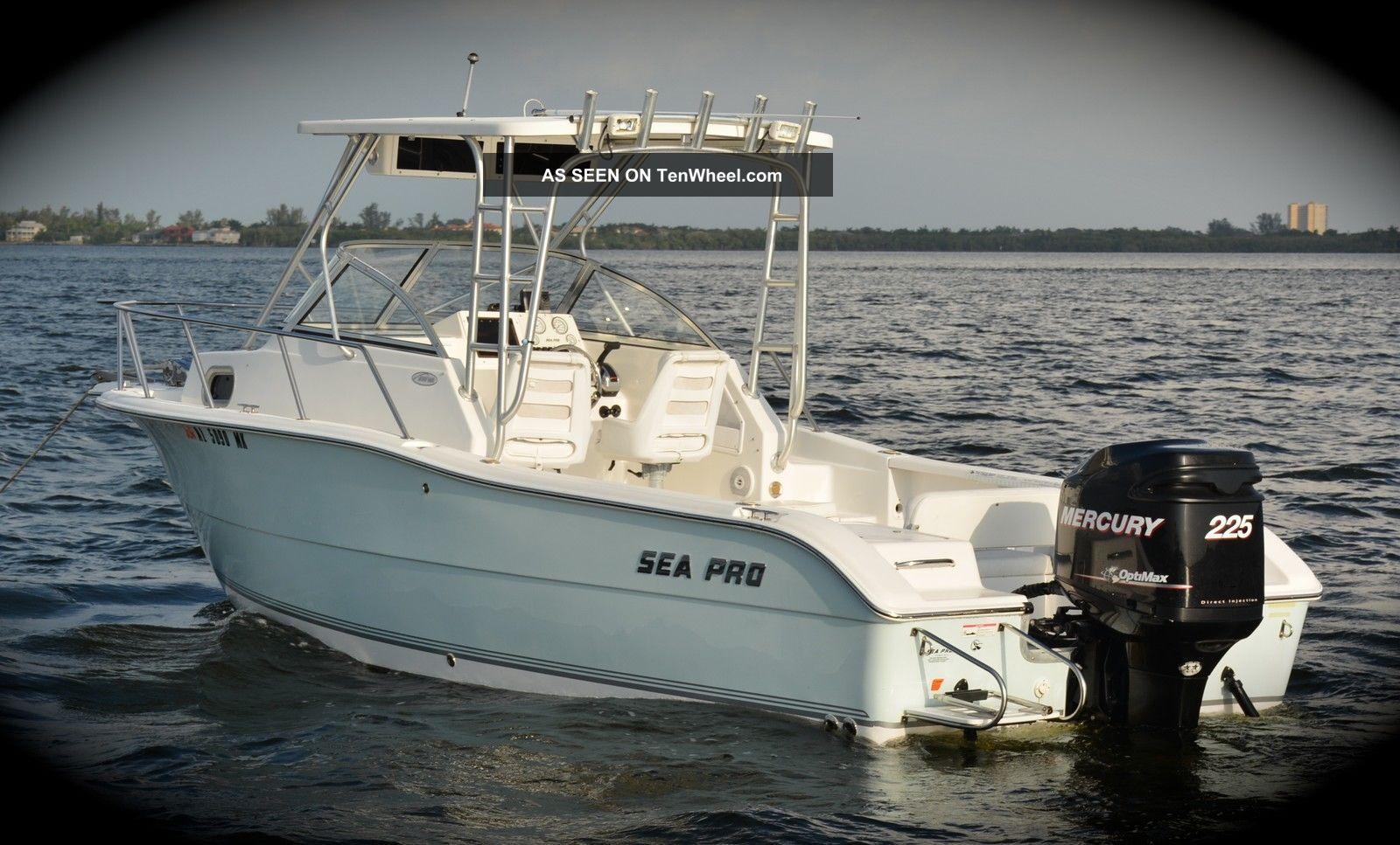 2007 Sea Pro 238 Wa Offshore Saltwater Fishing photo