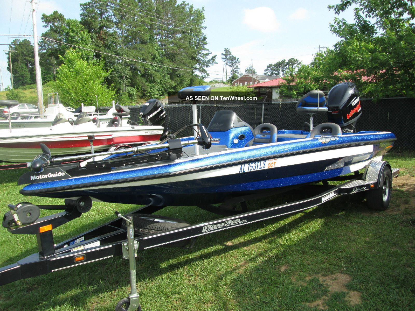 2008 Blazer 190 Bass Fishing Boats photo