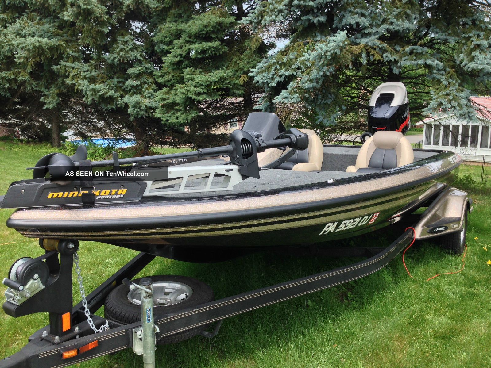 2012 Skeeter Zx 190 Bass Fishing Boats photo