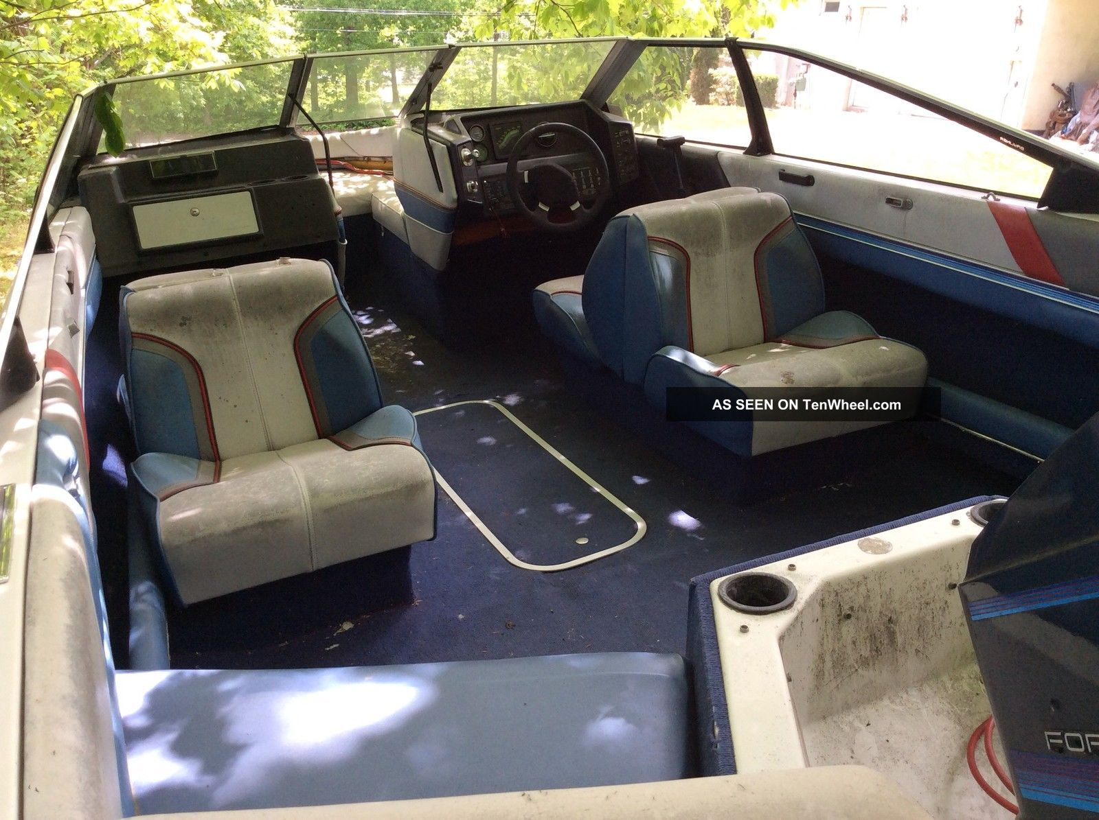 1987 Bayliner Capri Seat Covers