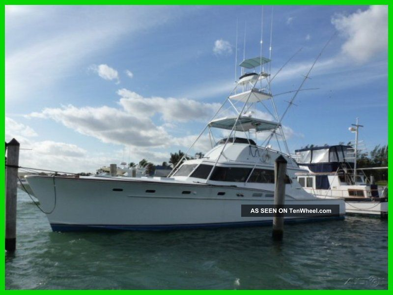 1967 Rybovich 53 Sportfisherman Offshore Saltwater Fishing photo
