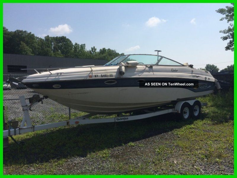 2003 Rinker Mag Braco 3 Boat And Trailer Cuddies photo