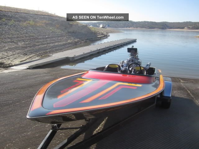 1980 Bahner 18 ' Delta Jet Boats photo