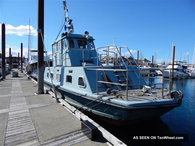1985 Amt Marine Diesel Work Boat - Personnel Ferry Other Powerboats photo