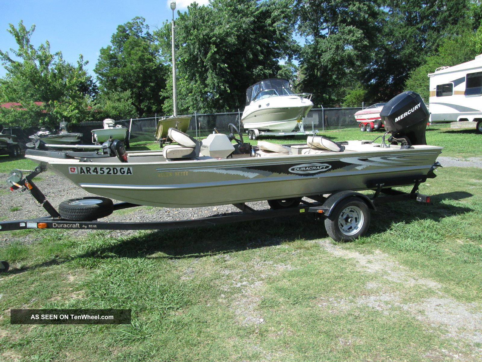 2007 Duracraft 1650 Crappie Bass Fishing Boats photo