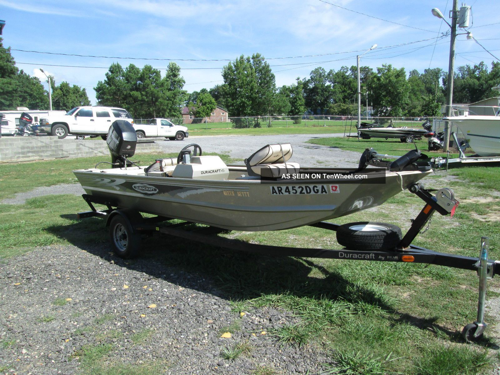 2007 duracraft 1650 crappie for Crappie fishing boats