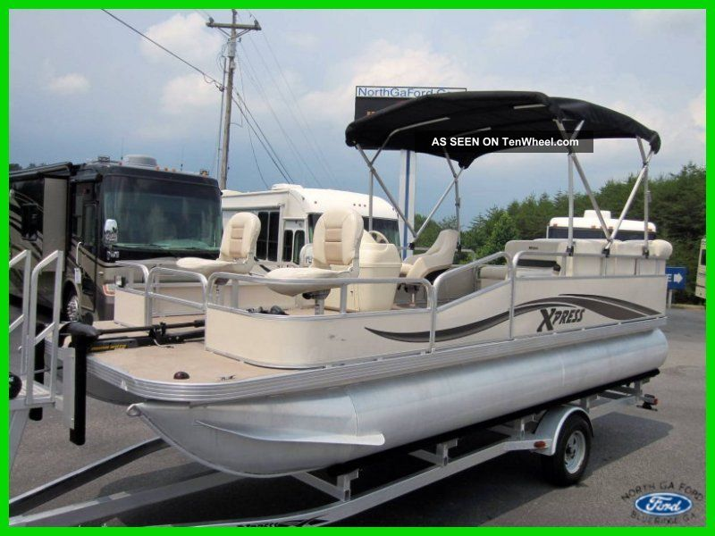 Xpress pontoon boats for sale ebay