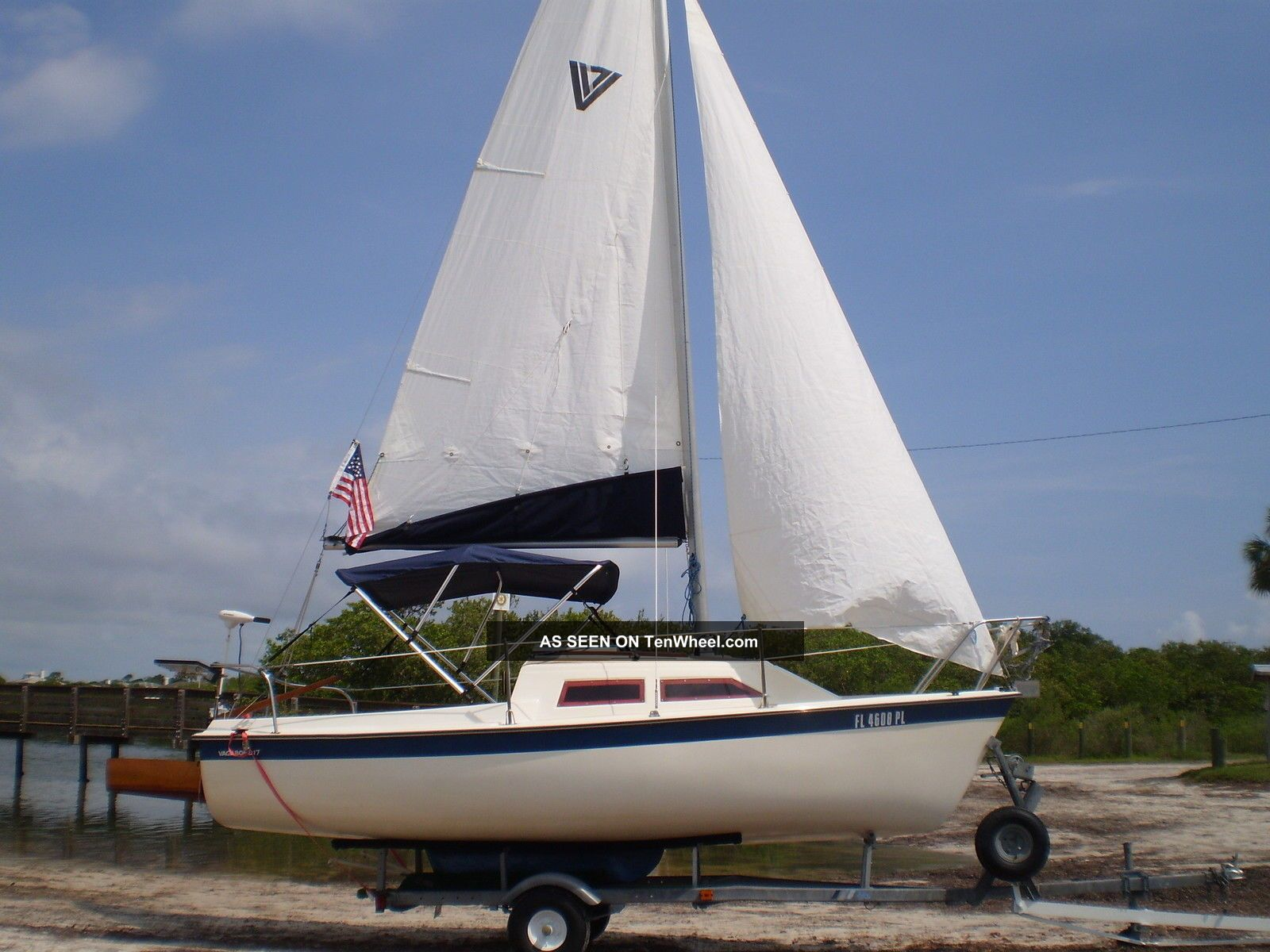 1982 Vagabond Sailboats Under 20 feet photo