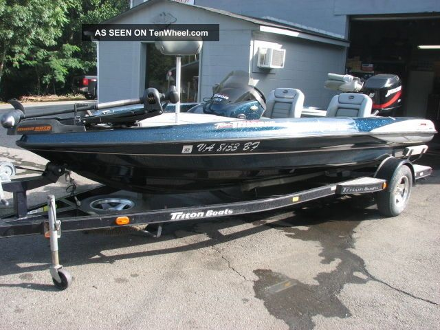 2002 Triton Tr186 Bass Fishing Boats photo