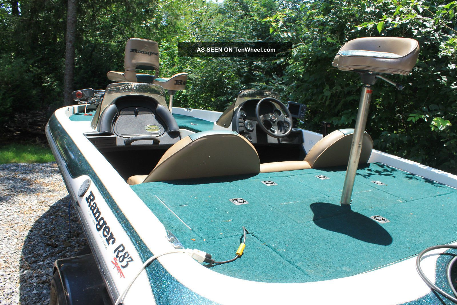 1999 Ranger R83 Sport Bass Fishing Boats photo