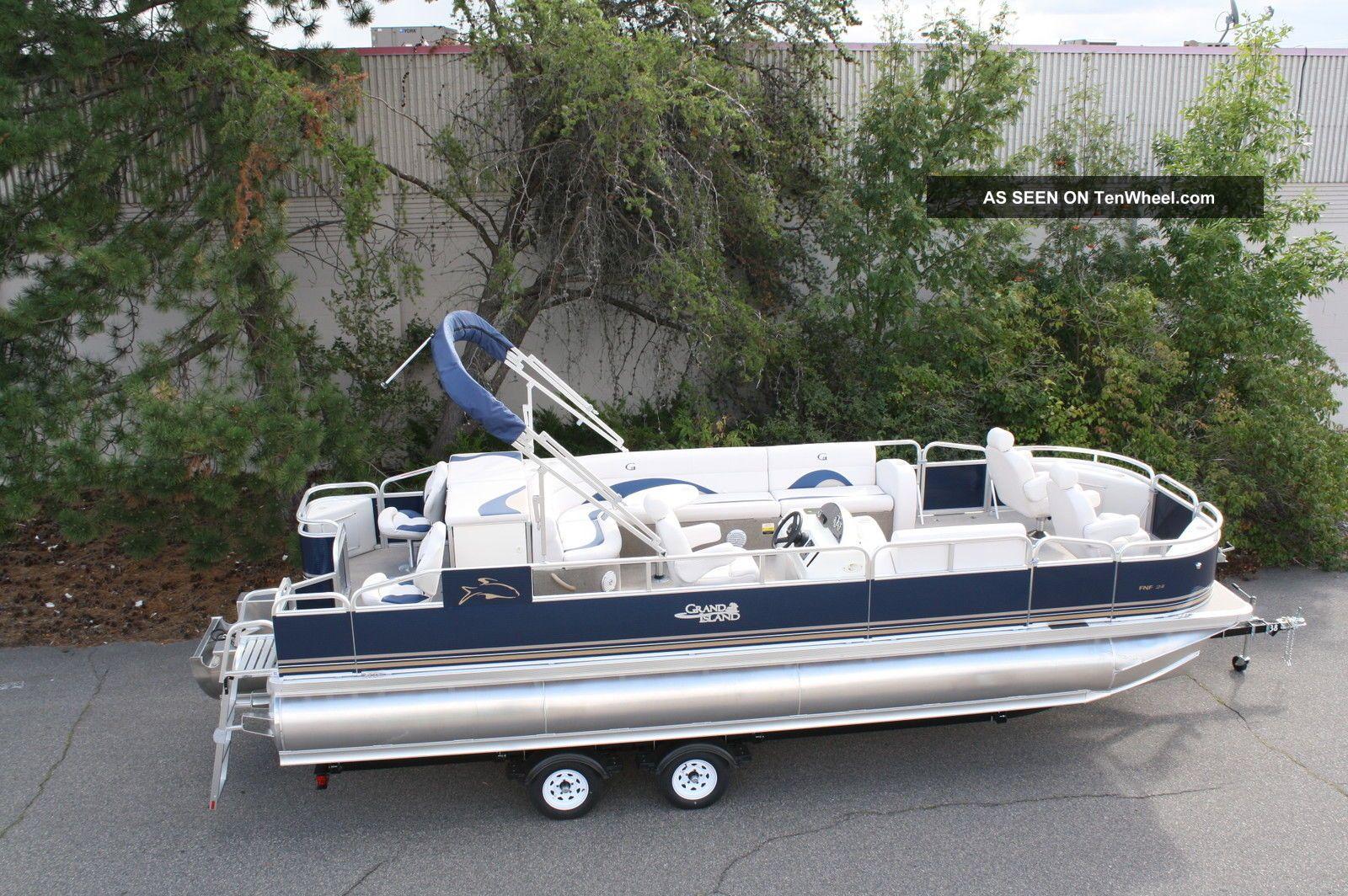 2013 Tahoe 24 Fnf Tritoon Pontoon / Deck Boats photo