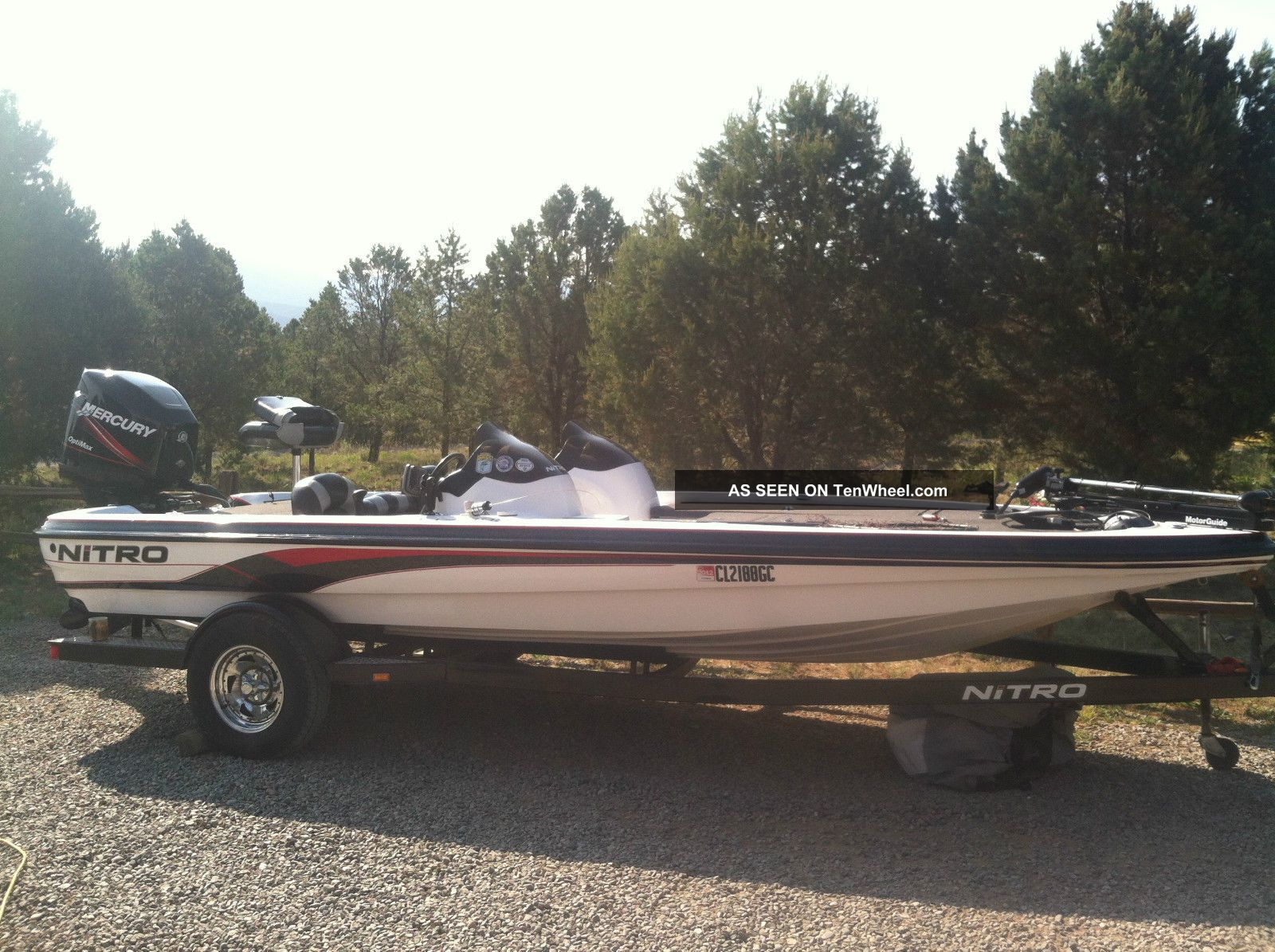 2004 Nitro Nx 898 Bass Fishing Boats photo