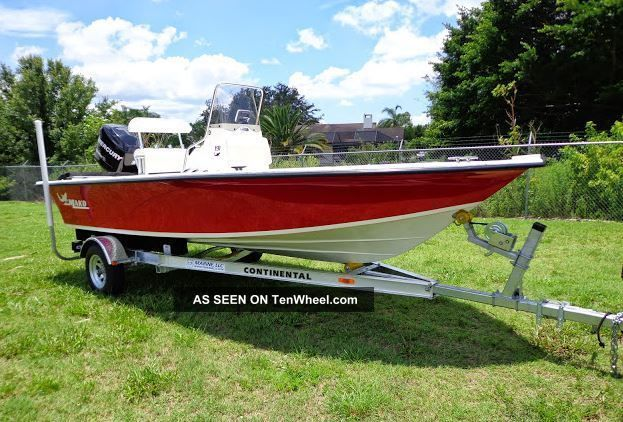 2010 Mako 191 Bay Boat Inshore Saltwater Fishing photo