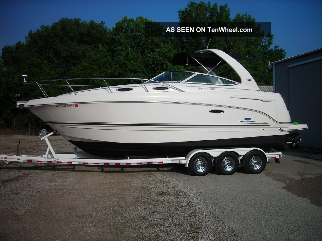 2004 Chaparral Signature 270 Cruisers photo