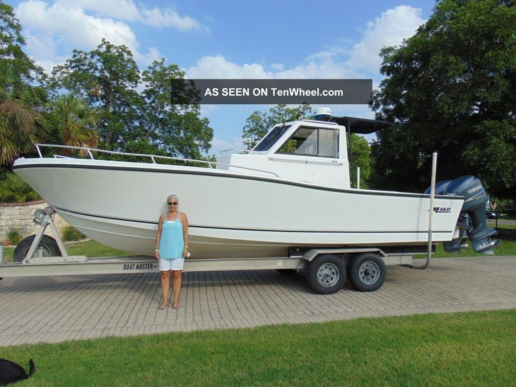 1998 Mako Lf250txr Offshore Saltwater Fishing photo