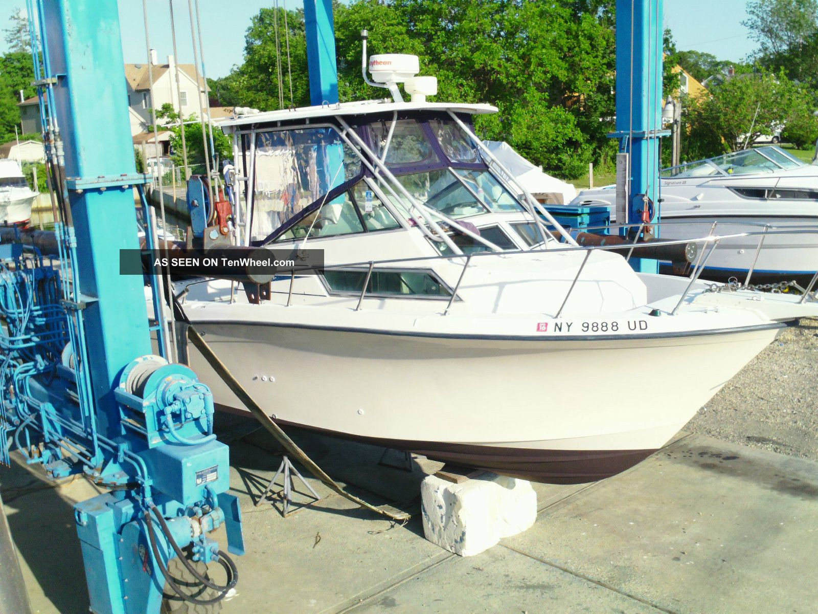 1990 Grady White Twinn 175 2007 Sail Fish 25 Sport Bridge Offshore Saltwater Fishing photo