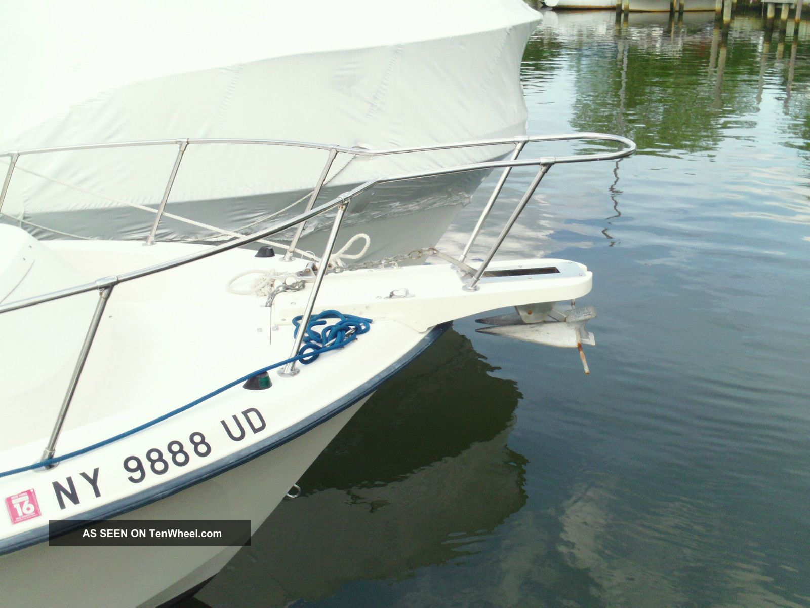 1990 Grady White Twinn 175 2007 Sail Fish 25 Sport Bridge