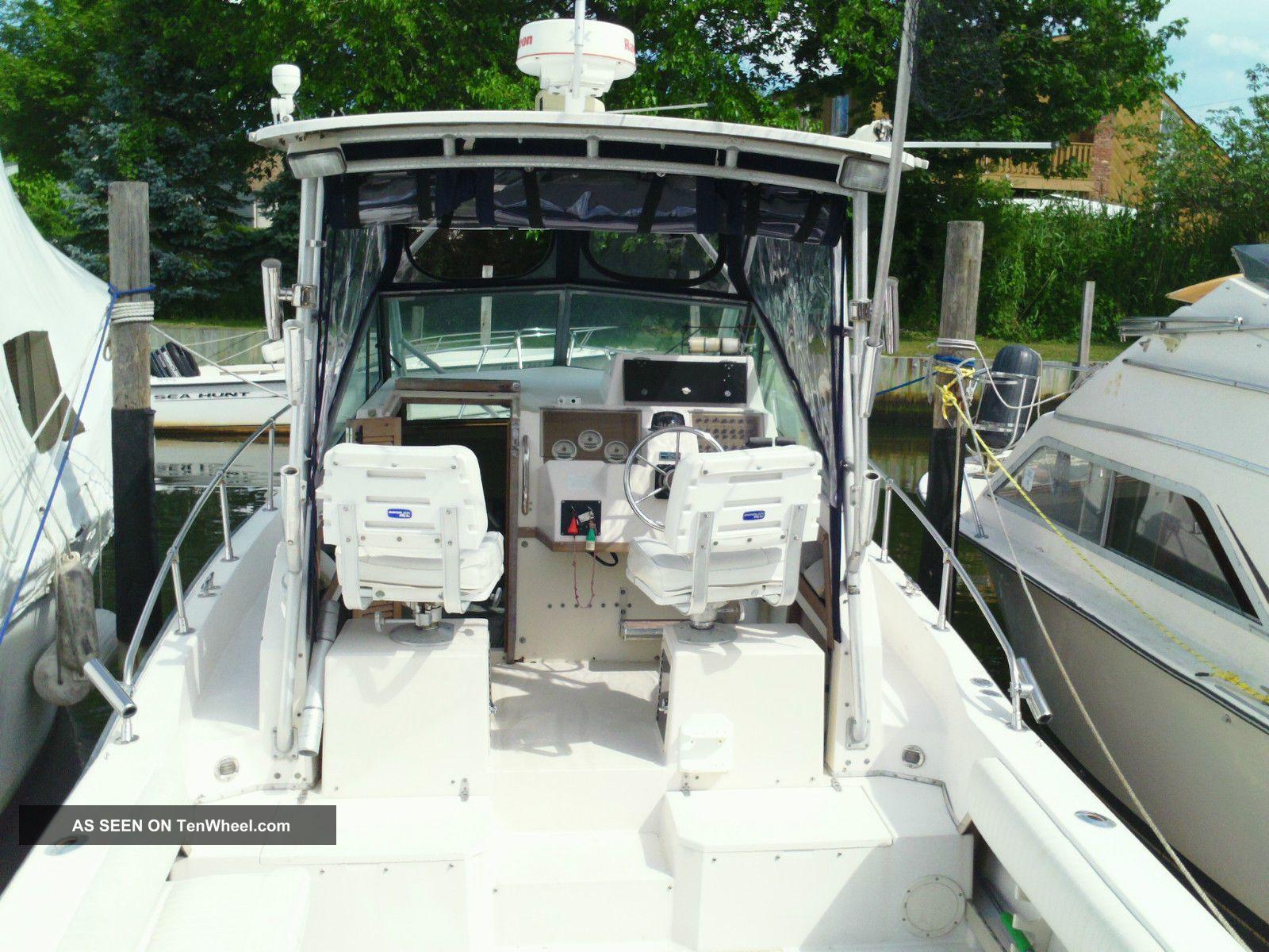 1990 Grady White Twinn 175 2007 Sail Fish 25 Sport Bridge