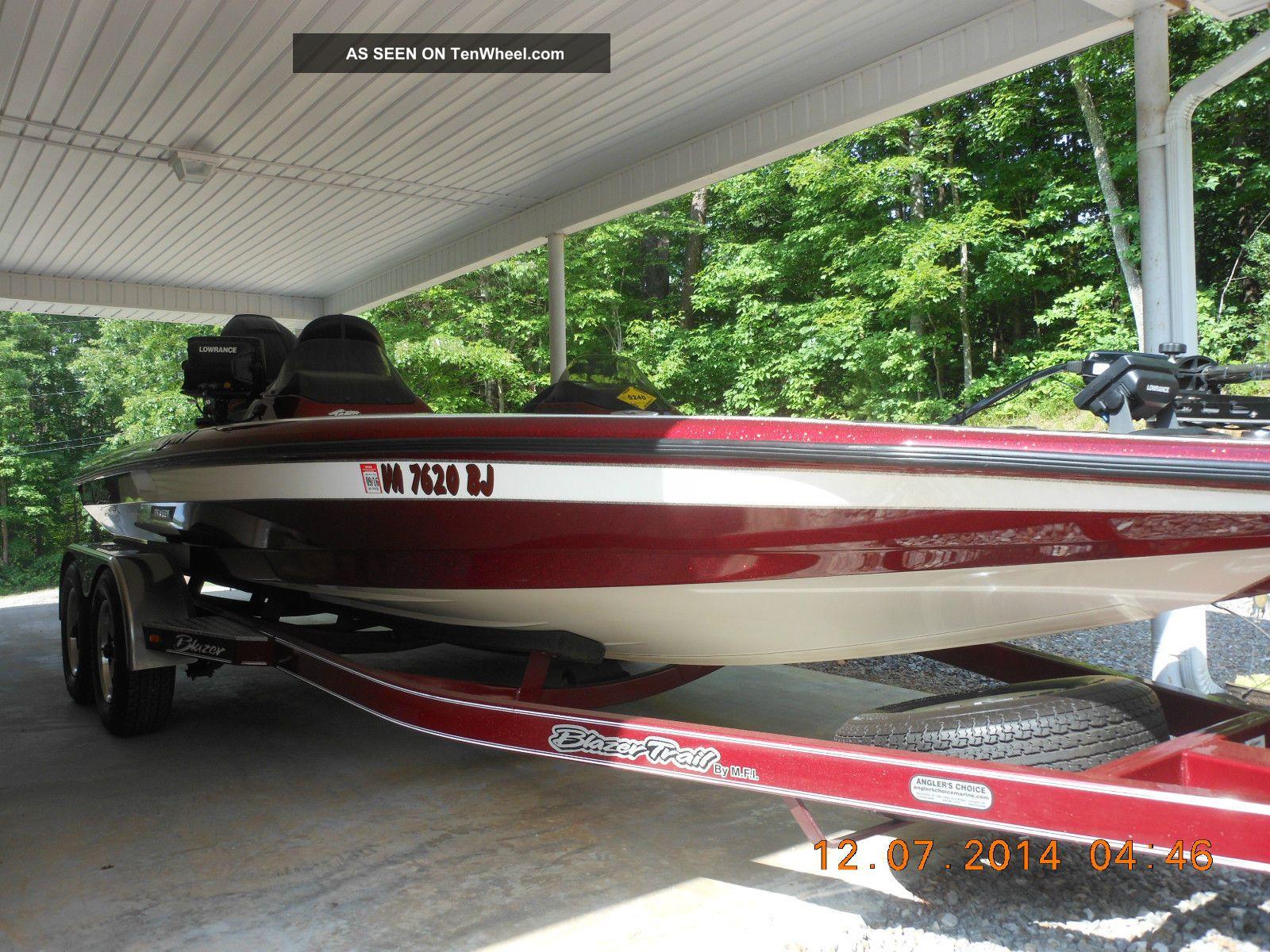 2005 Blazer 202 Pro V Bass Fishing Boats photo